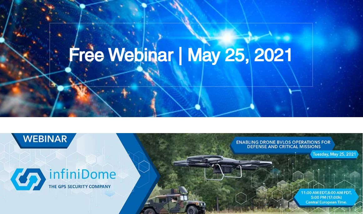 Enabling Drone BVLOS Operations for Defense & Critical Missions – webinarium InfiniDome