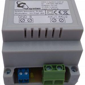 Separator ładowania akumulatorów SLA 40 C-system