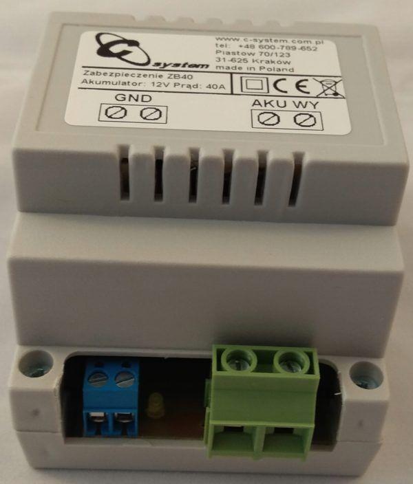 Zabezpieczenie akumulatora 12 V przed rozładowaniem ZB 40