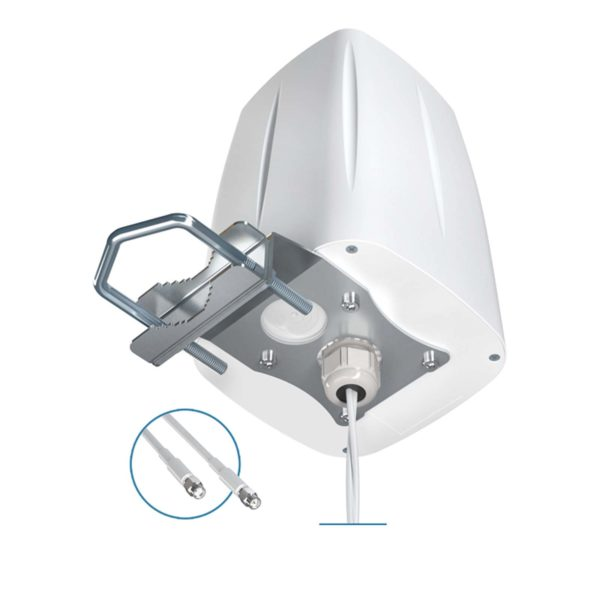 Antena dookólna LTE MIMO QuOmni 2×2